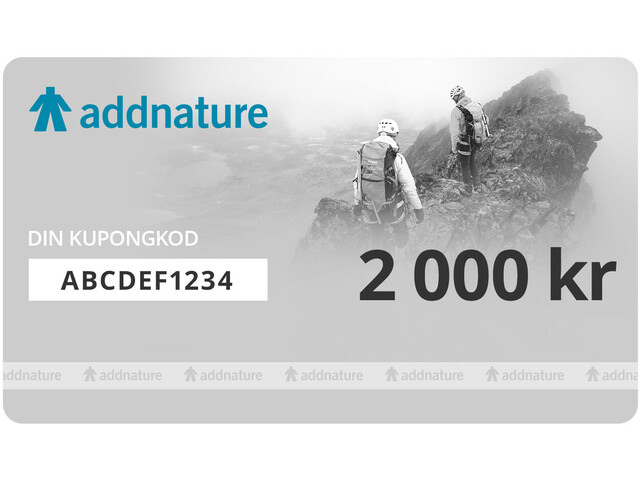 addnature Gift Voucher 2 000 kr